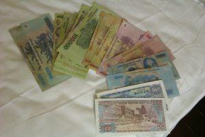 Vietnamese banknote